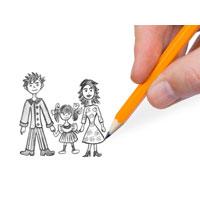 Desenele la copii, metode de exprimare