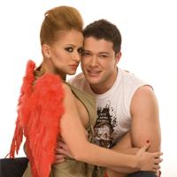 Anda Adam si Victor Slav - particularul unei relatii publice