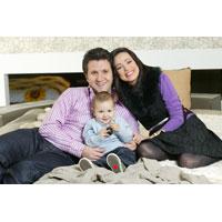Luca, a doua minune din familia Moisescu