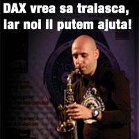 """Dan Nedelcu: DAX – """"The Man with the Sax"""", 35 de ani , artist, sot si tata a unei fetite de doar 1 an si 2 luni – poate pierde totul intr-o secunda"""