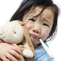 Febra la copii: Semnal de alarma pentru parinti