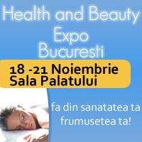 Health and Beauty Expo la Bucuresti, 18 – 21 Noiembrie 2010