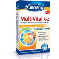 Eurovita MultiVital A-Z, energie intreaga zi