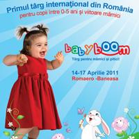 Baby Boom Show - Primul targ international din Romania pentru copii intre 0-5 ani