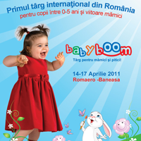 Baby Boom Show – Primul targ international din Romania pentru copii intre 0-5 ani