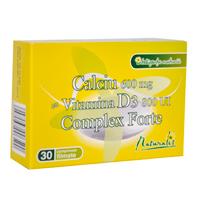 Calciu cu vitamina D3 Complex forte maximizeaza rezistenta osoasa