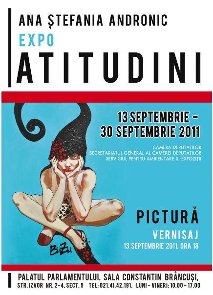 """ATITUDINI"" by ANA STEFANIA ANDRONIC (BUZU)"