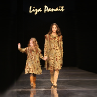Liza Panait, de 20 de ani pe scena modei romanesti