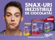 Kraft Foods lanseaza Milka Snax