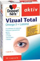 Mentine sanatatea ochilor cu noile suplimente Vizual,  din gama Doppelherz-aktiv
