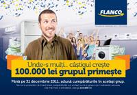 Flanco – primul retailer care lanseaza campania de Craciun