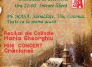 Recital de colinde Maria Gheorghiu @ Petrecere de Craciun