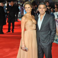 George Clooney i-a cunoscut pe parintii iubitei sale