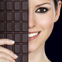 Ciocolata neagra tine doctorii la distanta