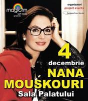Nana Mouskouri canta la Sala Palatului