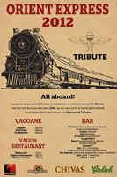 Revelion 2012: Orient Express in Tribute Club