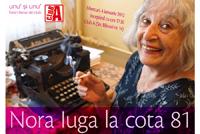 Unu' si Unu' – fresh literar de club – Nora Iuga la cota 81
