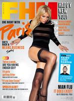 In pat cu Paris Hilton, pe coperta FHM Marea Britanie