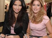 Adriana Lima versus Doutzen Kroes: un duo sexy si agresiv pe coperta V Magazine