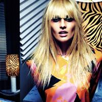 Modelul Candice Swanepoel, pictorial sexy in Vogue Italia