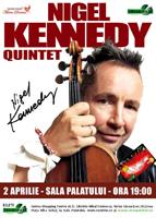 Violonistul Nigel Kennedy – in concert la Bucuresti