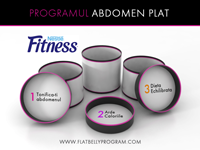 Nestlé Fitness lanseaza Programul ABDOMEN PLAT