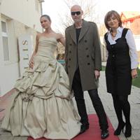 Creatoarea Eli Laslean: colaborare cu Lars Wallin, designerul Casei Regale Suedeze