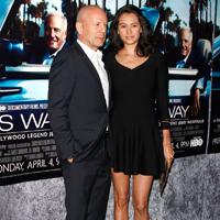 Bruce Willis, tata de fata pentru a patra oara