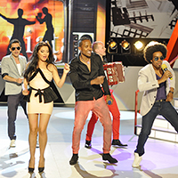 CATENA sustine Mandinga la Eurovision 2012. Aseara, Mandinga a calificat ROMANIA in finala.