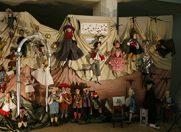 Expozitia de papusi si marionete a Muzeului Tandarica