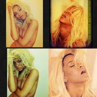 Rihanna a pozat blonda si nud pentru promovarea noului sau parfum, NUDE