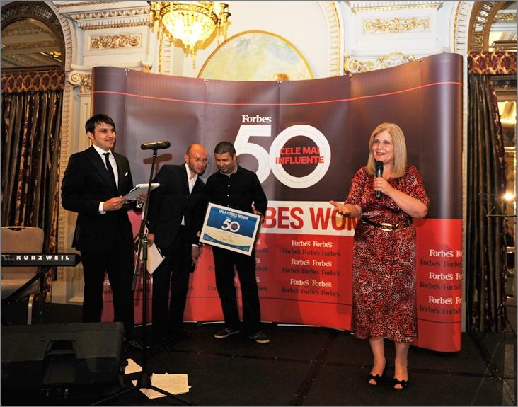 Anca Vlad, premiata la Gala Forbes Woman 2012