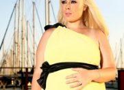 Giulia Nahmany va mai naste o fetita