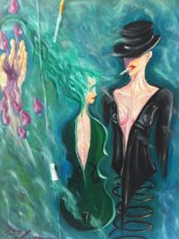 Pure Green Blood by Eglantina