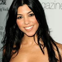 Kourtney Kardashian a nascut