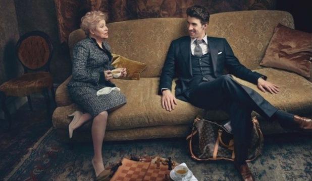 Michael Phelps, noua imagine a brandului Louis Vuitton