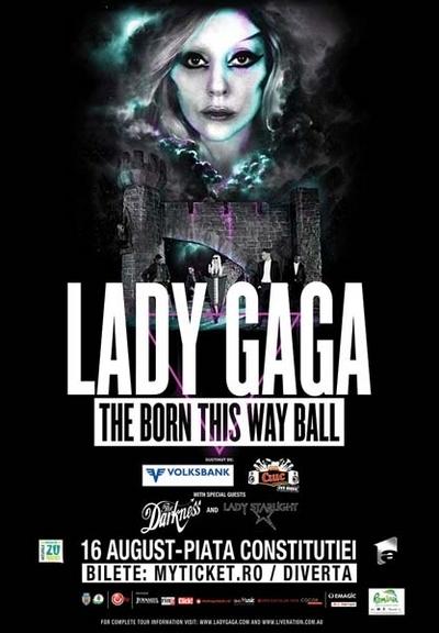 Concert Lady Gaga, in Piata Constitutiei