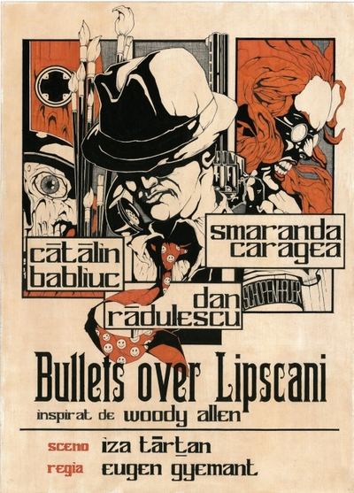 Bullets over Lipscani