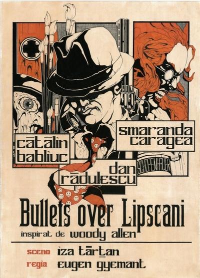 Bullets over Lipscani