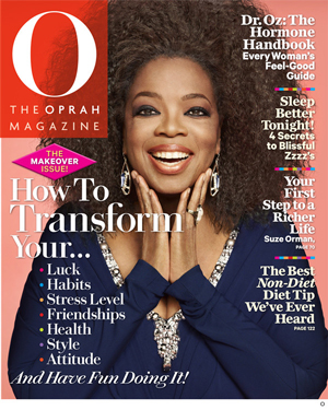 Oprah Winfrey isi dezvaluie pentru prima data coafura naturala