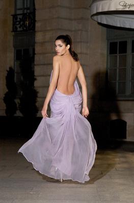 Colectia de vara 2012 a designerului  Silvia Terziu celebreaza silfidele, dar si femeile cu forme