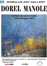 Expozitie Dorel Manole