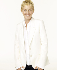 Ellen DeGeneres a primit o stea pe Bulevardul Hollywood Walk of Fame