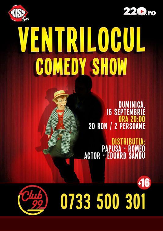 """""""Ventrilocul"""" – primul spectacol de ventrilogie din Romania"""
