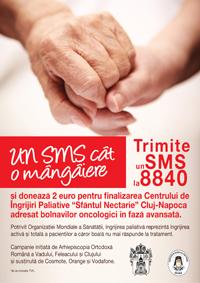 """Ajuta cu un SMS Centrul """"Sfantul Nectarie"""" din Cluj-Napoca"""