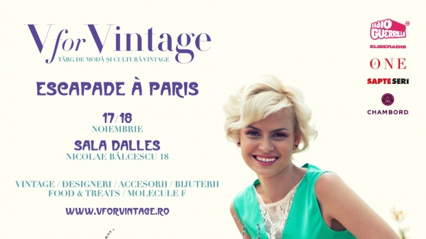 Escapade à Paris @ V for Vintage