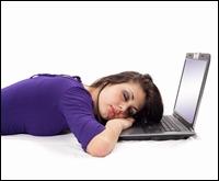 Ecranul laptopului ar putea duce la aparitia depresiei