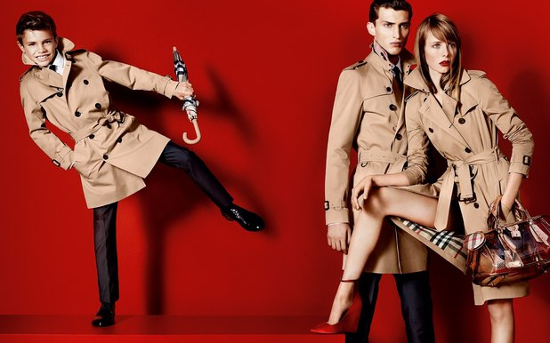 Romeo Beckham for Burberry
