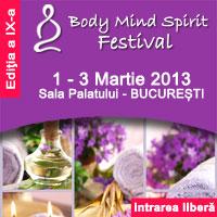 Body Mind Spirit Festival, perfect pentru nevoile tale!