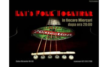 Let's folk together